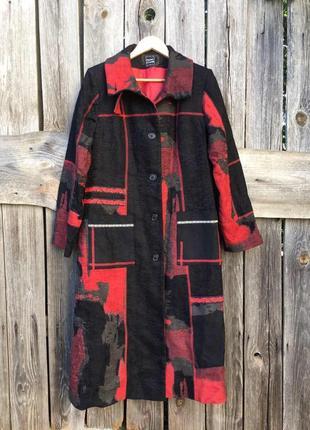 Женское пальто на осень-весну от бренда pause cafe вискоза