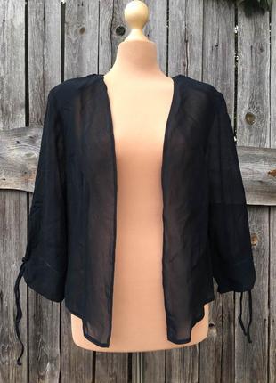 Прозрачная накидка блузка