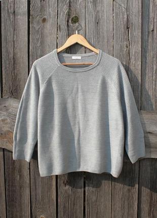 Свободный модный свитер