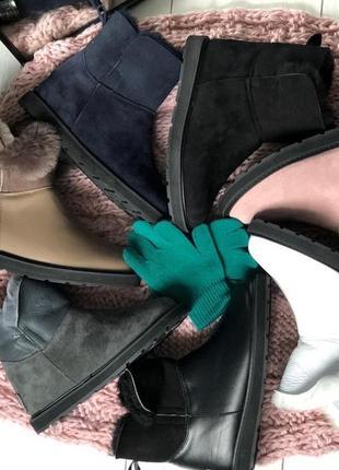 Lux обувь! натуральные угги! все цвета! 33-43 р