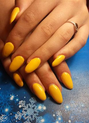 Наращивание ногтей, покрытие гель-лаком