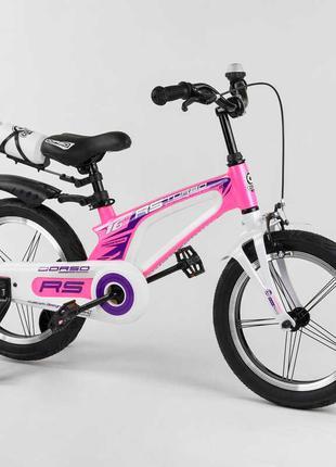 Двухколесный магниевый велосипед 54226, 16 дюймов