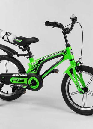 Двухколесный магниевый велосипед 39373, 16 дюймов