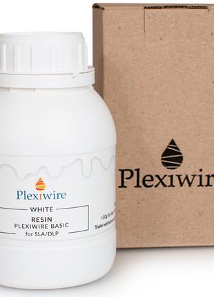 Фотополімерна смола Plexiwire resin basic 0,5кг WHITE