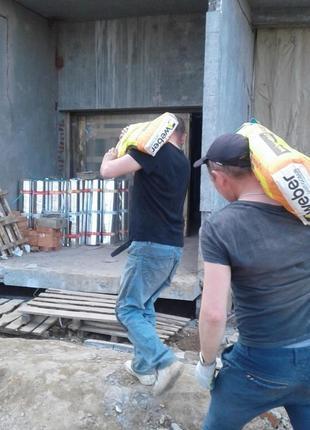Услуги разнорабочих, грузчиков подсобники на стройку вывоз мусора