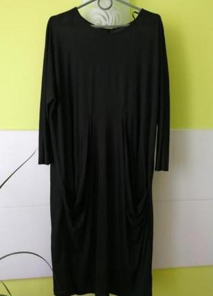 Платье туника с карманами свободного кроя cos