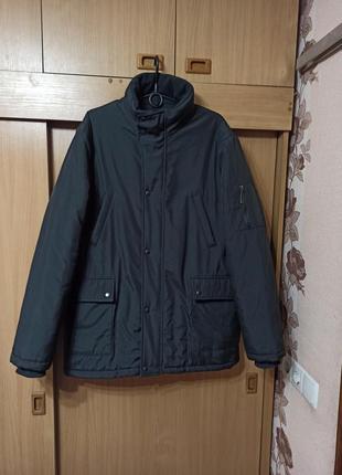 Теплющая зимняя куртка парка  большой размер