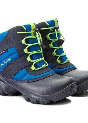 Новые зимние детские ботинки сноубутсы columbia waterproof