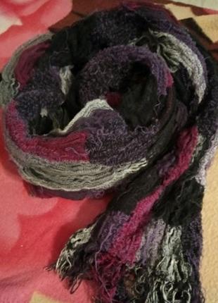 Большой теплый шарф