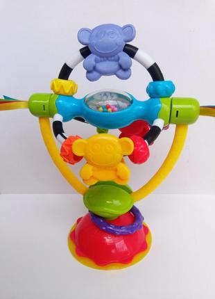 Развивающая игрушка playgro 2 в 1 на присоске