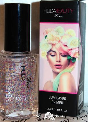 Подсвечивающая база под макияж -lumilayer primer