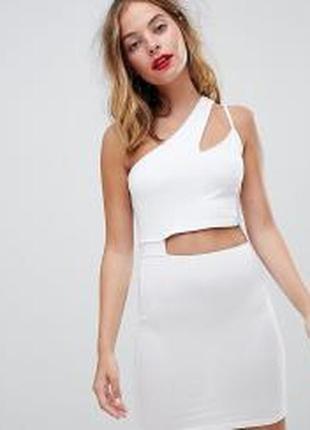 Эксклюзивное новое белое платье 48-50 наш раз