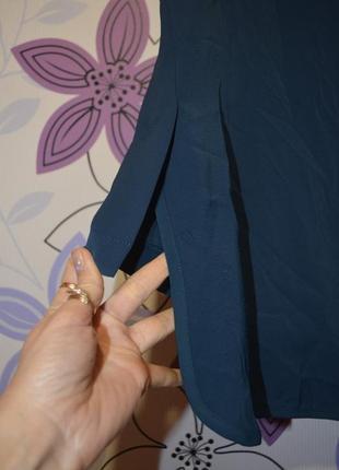 Стильная блуза с удлиненной спинкой 44р евроразмер