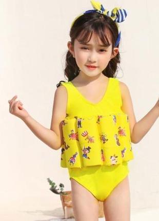 Распродажа! детский купальник с нишами для поплавков из пенопл...