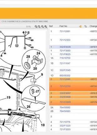 JCB Parts Plus - Установка каталога оригинальных запчастей JCB !