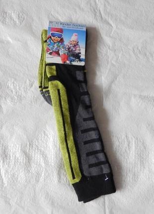 Р. 39-42 лыжные термо носки с шерстью гольфы высокие crane гер...
