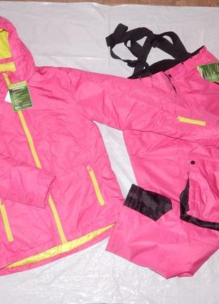 S-m-l, новый! лыжный термо костюм crane куртка и полукомбинезон
