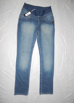 Поб 48-52, узкачи джинсы скинни для беременных tete a tete