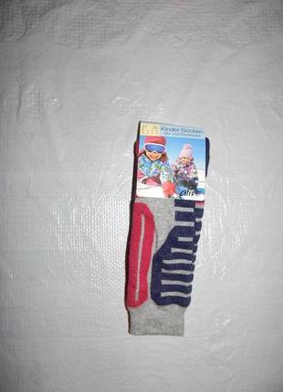 Р-ры 27-34, лыжные термо носки с шерстью гольфы высокие alive ...