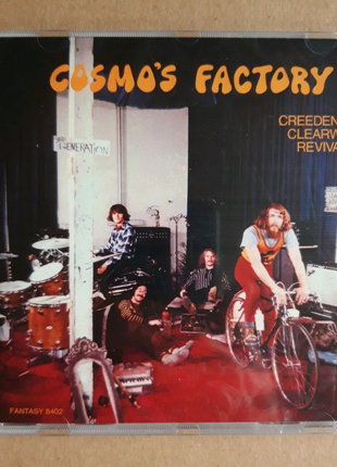 CD Creedence Clearwater Revival - Cosmo's Factory (2008)