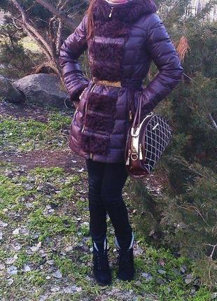 Пуховик куртка женская пальто размер 42