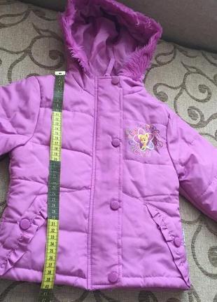 Деми куртка disney на 3 года