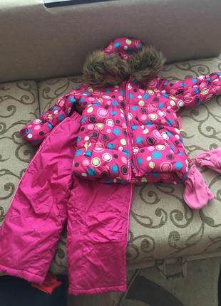 Зимний костюм okie dokie из сша 3 года