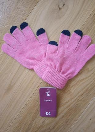 Перчатки tu для сенсора