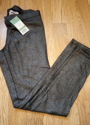 Лосины леггинсы штаны с блеском германия