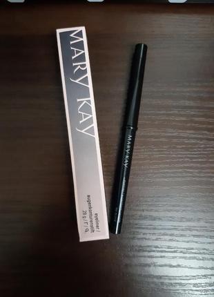 Механічний олівець для очей з ковпачком-стругачкою  0,28 г чорний