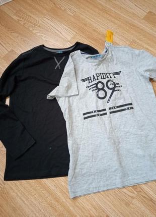 Набор кофта футболка реглан лонгслив young style