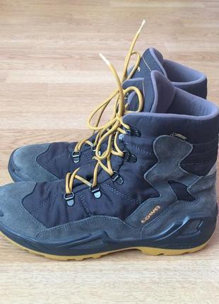 Зимние термо ботинки lowa германия с мембраной gore-tex 41 раз...