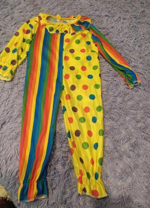 Карнавальный костюм клоун,скоморох