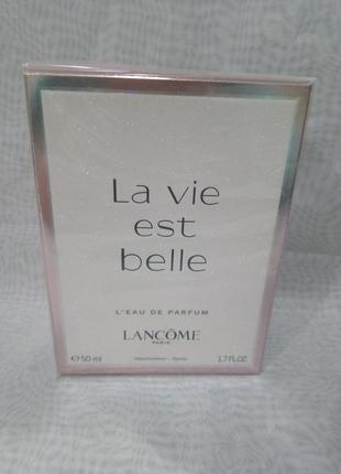 Lancome la vie est belle парфюмированная вода 50мл