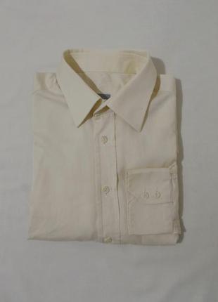Рубашка статусная деловая светло-желтая 'van laack' 50-54р