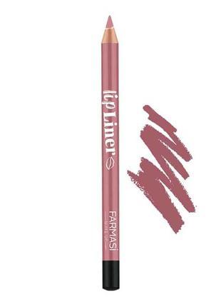 Олівець для губ lip liner 212 карамель
