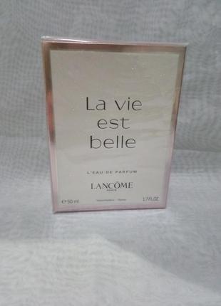 Lancome la vie est belle женская парфюмированная вода 50мл