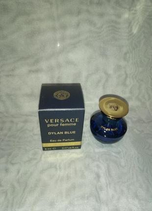 Versace dylan blue pour femme парфюмированная вода 5мл