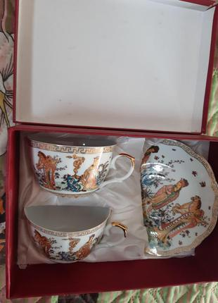 Чайный сервиз фарфор yamasen