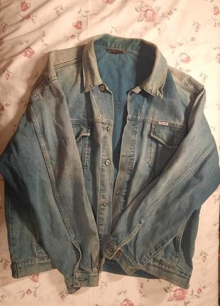Джинсовая куртка colins