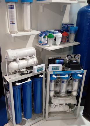 Замена фильтров в системах очистки воды
