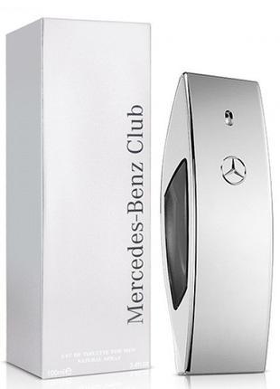 Туалетная вода мужская Mercedes-Benz Club, 50 мл