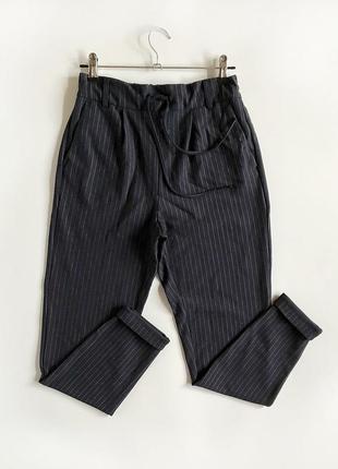 Идеальные зауженные брюки джоггеры с высокой посадкой only
