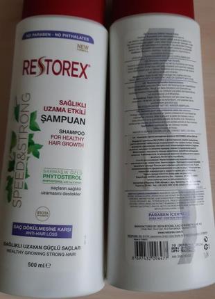 Шампунь против выпадения волос restorex, турция юнайс