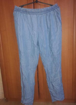 Тонкие летние джинсы штаны mango