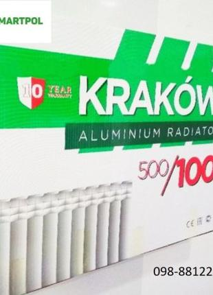 Батарея Радиатор алюминиевый для отопления 500/96 (KRAKOW) Польша