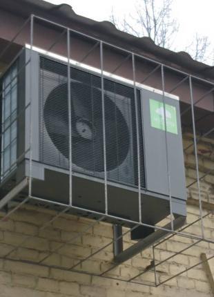 Отопление и кондиционирование тепловым насосом