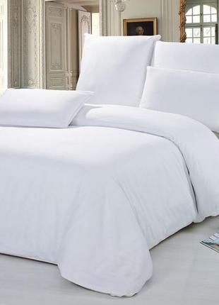 Белое постельное белье  тм вилюта, ранфорс, хлопок, viluta