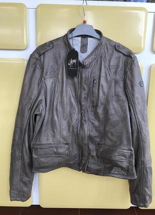 Куртка кожаная женская дорогой бренд германии gipsy mauritius ...
