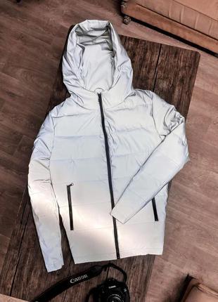 Рефлективная крутая куртка